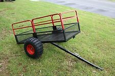 ATV/RIDE ON MOWER/QUAD BIKE HEAVY DUTY TIPPING TRAILER (550KG Capacity) P# ATT2