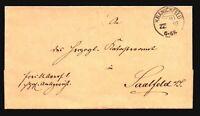 Germany 1893 Stampless Wrapper Kranichfeld - Z17060