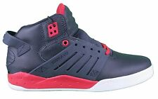 Supra Skytop III Midnight/White/Red Mid Top Skateboarding Shoes Sneakers 9.5 NIB