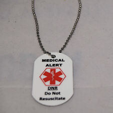 Medical Alert necklace - DNR (Do Not Resuscitate)