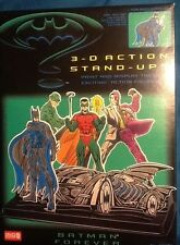 Batman 3-D Action Stand-Ups Set MINT film style 1995 CraftHouse