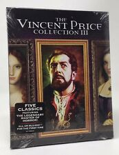 SCREAM FACTORY The Vincent Price Collection III (Blu-ray 2016, 4-Disc Set) NEW