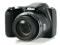 NEW Nikon Coolpix L320 16.1MP Digital Camera with 26x Optical Zoom, Digital 52x