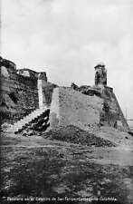 Cartagena Colombia San Felipe Fortress Ruins Real Photo Postcard J47238