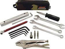 Motocross ATV UTV Travel Tool Kit Speedkit DMX Includes Tools & Camo Travel Bag