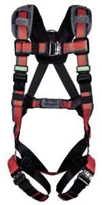 🌟MSA Evotech 10183518 Vest Style Body Harness, RFID Enabled, SXL, Super XL