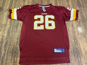 Clinton Portis Washington Redskins Reebok Maroon NFL Football Jersey - Youth XL