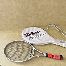 Wilson Tennis Racket Profile 2.7 si 110 sq in 4 1/2 L4 Oversize OS EUC w/ Case