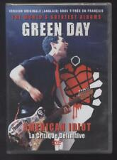 NEUF DVD GREEN DAY AMERICAN IDIOT LA CRITIQUE DEFINITIVE SOUS BLISTER Punk rock