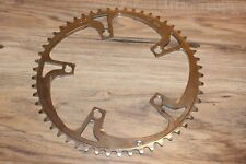 Vintage 90s REAL Racing 54 Tooth Road Chainring 5 Bolt 130 BCD Silver