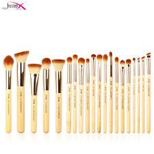 Jessup Make up Brushes Set Bamboo 20Pcs Face Powder Eyeshadow Brow Blending Tool