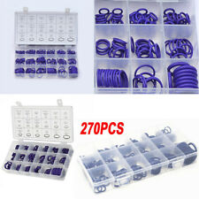 270x Rubber Car A/C System Air Conditioning O Ring Seals Set Vehicle Kit Tool UK