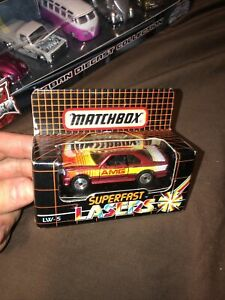 """MATCHBOX"" SUPERFAST **LASER WHEELS** LW-5 MERCEDES AMG BOXED"