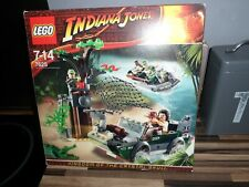 LEGO INDIANA JONES RIVER CHASE SET 7625 100% COMPLETE VGC BOXED