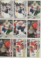 WASHINGTON CAPITALS 2019-20 Upper Deck Team Lot / Set - 18 Hockey Cards CARLSON