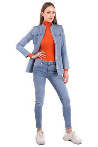 RRP €320 PAUL & JOE Jacket Size 34 / XS Linen Blend Two Tone Striped Full Zip