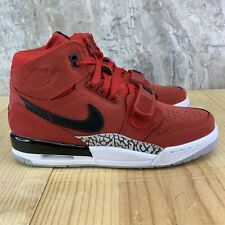 Air Jordan Legacy 312 GS Size 6.5 Y Youth Varsity Red Black White Casual Shoes