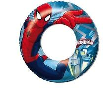 FLOTADOR SPIDERMAN MARVEL PLAYA PISCINA NIÑOS COMIC 56 CM (16470)