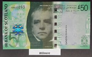 Bank of Scotland £50 (P127b) 2009 AB prefix  *UNC*
