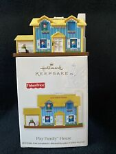 Hallmark FISHER PRICE Little People Play Family HOUSE 2011 Ornament,  Nice!
