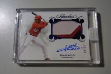 2018 Flawless Sapphire Juan Soto Nationals RPA RC 3-Color Patch AUTO #7/15 SSP