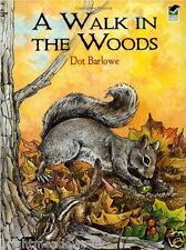 Walk in the Woods Animal Nature Adult Colouring Book Creative Art Therapy Relax