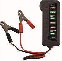1X(12V batterie de voiture et alternateur testeur - et alternateur de charge 2E