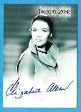 Elizabeth Allen ~ Twilight Zone Twz Series 1 Autograph Auto Card A15 Rittenhouse