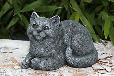 FIGURINE EN PIERRE chats décorative ANIMALE moulé résistante au gel