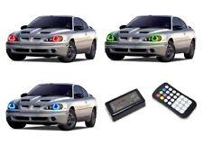 LED Headlight Halo Ring RGB Colorfuse Kit for Pontiac Grand Am 95-05
