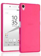 Frosted Matte TPU Gel Soft Protective Case Cover Skin For Sony Xperia Phones