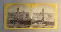 The Norwegian Lutheran College, Decorah, Iowa – Andrew L. Dahl, Stereoview Slide