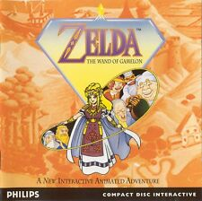 PHILIPS CDI ZELDA THE WAND OF GAMELON GAME SPIEL JEU CD-I GAME MAGNAVOX