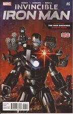 Invincible Iron Man #6 Dr Doom Madame Masque War Machine tech ninjas Bendis VF