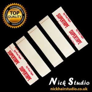 Supertape 'Straight' Contour Strips - Strong Wig Tape Super Tape - DOUBLE SIDED