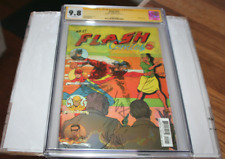 Flash #22 CGC 9.8 SS Signed By Ezra Miller Lenticular Cover 7/17