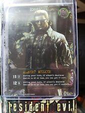 Resident Evil Deck Building Game PROMO Card Wesker Gen Con PR-005 NEW IN PACK