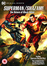 Superman/Shazam!: The Return Of Black Adam [DVD] [2019], Very Good DVD, Various,