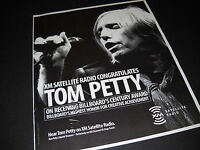 TOM PETTY congrats from XM SATELLITE RADIO 2005 Promo Display Ad mint condition