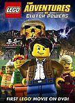 Lego: The Adventures of Clutch Powers (DVD, 2009, Widescreen) Ships in 12 hrs!!!