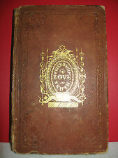 Odd-Fellows Offering for 1847  Rare Antique Book