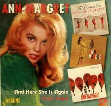 ANN-MARGARET 'And Here She Is Again' - 2CD Set on Jasmine
