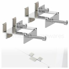 2 x IKEA LINNMON Connecting Fittings (Suitable For Use With KALLAX Shelf Units)