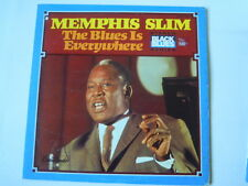 Memphis Slim - THE BLUES IS EVERYWHERE (Lp) Press USA 1973 Cutout Hole
