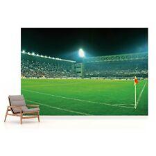 Football Stadium Photo Design Wallpaper Wall Mural Fleece Easy-Install Paper