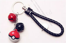 Pocket Monster Pokémon Poke Ball Colgantes Llaveros Clave Anillos De plástico