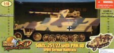 21st Century Ultimate 1:18 Sd.Kfz.251/22 Halftrack w/ Pak 40 Built Model #10109U