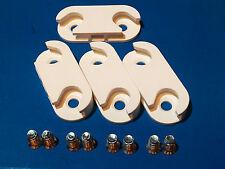 4x IKEA charnières pour Stall & Hemnes Armoire à Chaussures Armoire étagères tiroirs & Vis