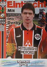 Programm 1996/97 SG Eintracht Frankfurt - FSV Mainz