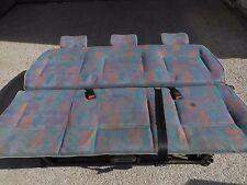 Bett Sitz Sitzbank Sitzreihe Liege Schlafbett Schlafbank hinten VW T4 Multivan
